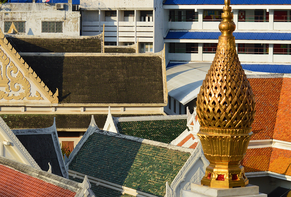 The Golden Buddha : Bangkok, Thailand
