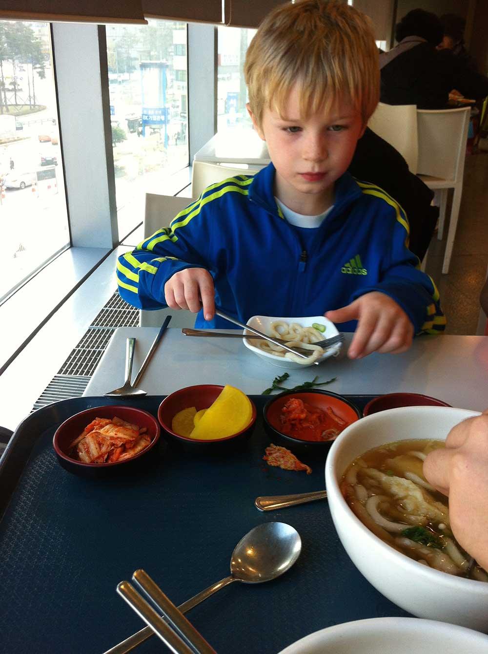 Food in South Korea