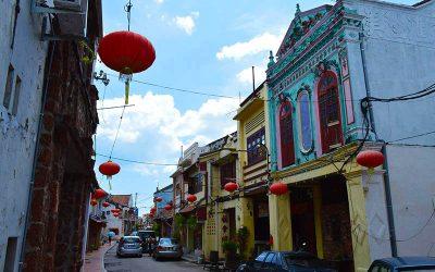 Colorful City & Hospital Visit: Melaka City, Malaysia